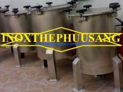 Tank áp + Tank khuấy inox SUS 304